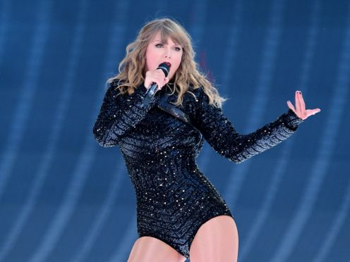 Taylor Swift tops the list (Ian West/PA)