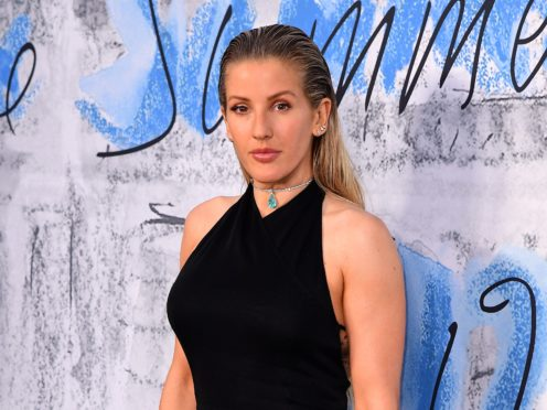Ellie Goulding was one of the stars to sign the letter (Ian West/PA)