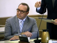 Actor Kevin Spacey attending a pretrial hearing (Steven Senne/AP)
