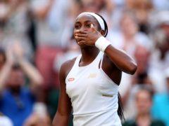 15-year-old Cori Gauff has taken Wimbledon by storm (Steven Paston/PA)