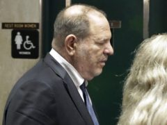 Former movie mogul Harvey Weinstein (Richard Drew/AP)