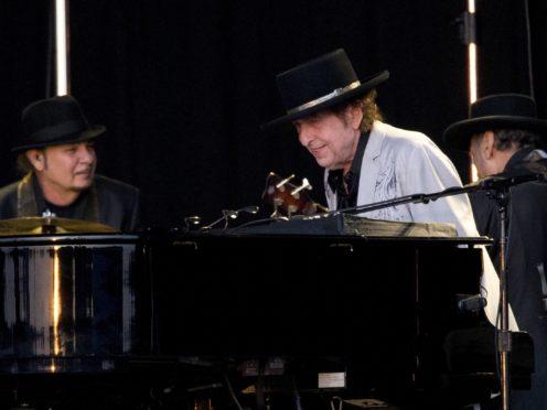 Bob Dylan performing at British Summer Time (Isabel Infantes/PA)