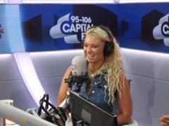 Lucie Donlan on the Capital Breakfast programme (Capital Breakfast/Global/PA)