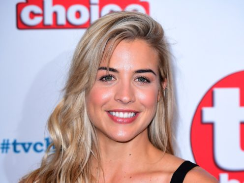 """Gemma Atkinson has said her difficult labour was """"totally worth it"""" (Ian West/PA)"""