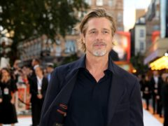 Brad Pitt attending the Once Upon A Time… In Hollywood UK premiere in Leicester Square, London (Isabel Infantes/PA)