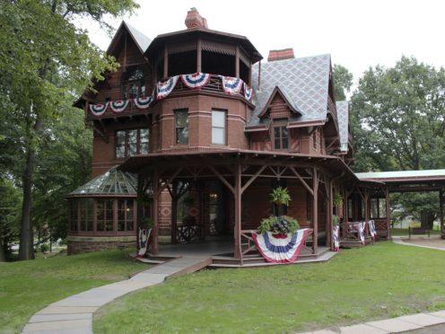 The Mark Twain House in Hartford (Pat Eaton-Robb/AP)
