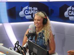 Lucie Donlan appears on Capital Breakfast (Capital Breakfast/Global)