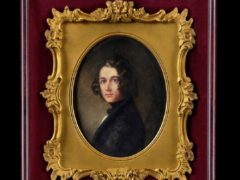 The portrait of Charles Dickens by Margaret Gillies (Philip Mould And Co Gallery/PA)