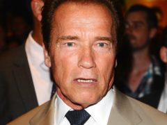 Arnold Schwarzenegger has paid tribute to his friend (Ian West/PA)