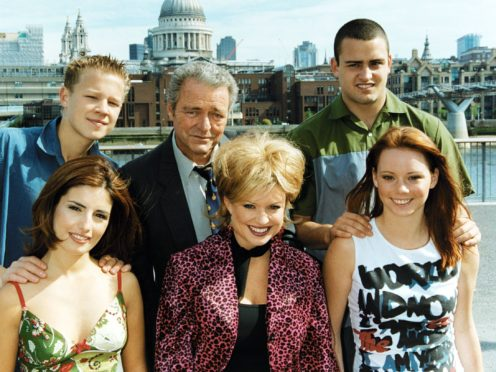 The cast of Australian soap Home And Away in London (Helen Valentin/PA)