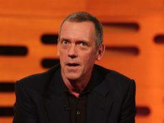 Hugh Laurie has spoken of a disregard for truth (Yui Mok/PA)