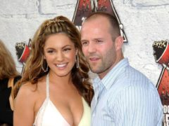 Kelly Brook jokes ex-boyfriend Jason Statham was 'skint' when she dated him (Anthony Harvey/PA)