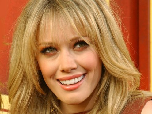 Hilary Duff is set to star in a reboot of Lizzie McGuire (Anthony Harvey/PA)