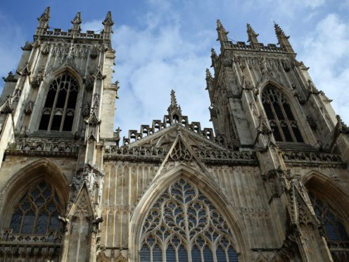 A general view of York Minster (Steve Parsons/PA)