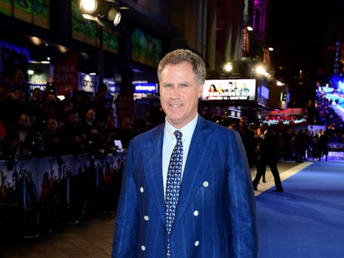 Will Ferrell appeared on a string of US late-night talk shows in character as Anchorman's Ron Burgundy to promote a podcast (Ian West/PA)