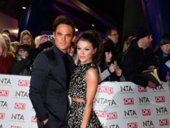 Faye Brookes posts cryptic quotes amid reports of split from Gareth Gates (Ian West/PA)