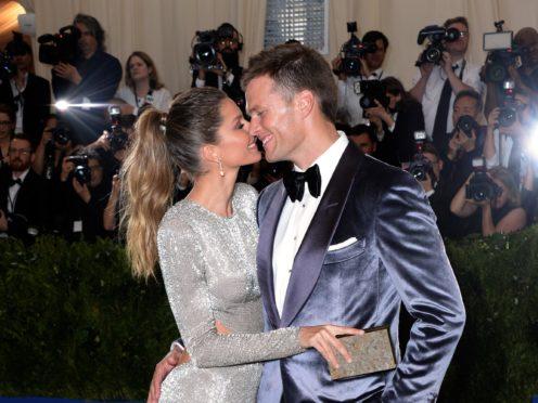 Gisele Bundchen and Tom Brady (PA)