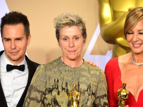 Man accused of stealing Frances McDormand's Oscar will face no charges (Ian West/PA)