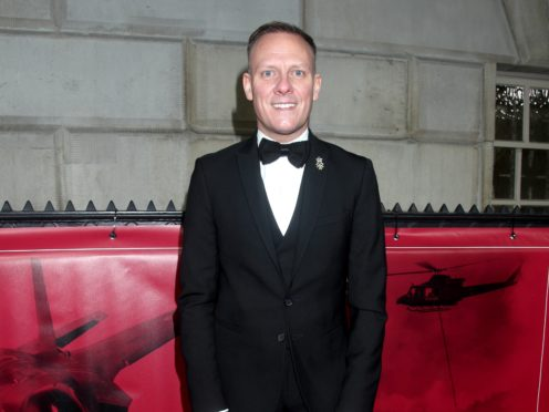 Antony Cotton attending The Sun Military Awards held at the Banqueting House in London (Yui Mok/PA)