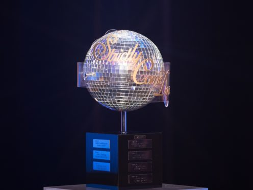 The Strictly Come Dancing glitterball trophy (Guy Levy/PA)