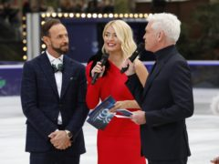 Jason Gardiner (left to right), Holly Willoughby and Phillip Schofield (David Parry/PA)