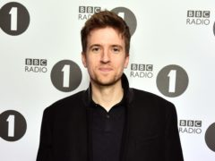 Greg James 'so happy' as his Radio 1 Breakfast Show grows in listeners (Matt Crossick/PA)