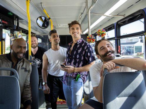 Queer Eye's Antoni Porowski, Karamo Brown, Jonathan Van Ness, Tan France and Bobby Berk (Christopher Smith/Netflix)