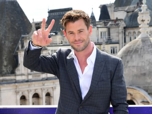 Chris Hemsworth stars in the commercially successful film (Ian West/PA)