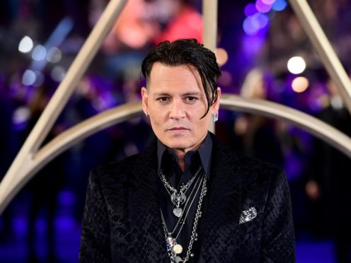 Johnny Depp has been the face of the French fashion house since 2015 (Ian West/PA)