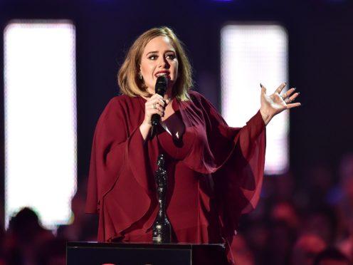 Adele (Dominic Lipinski/PA)