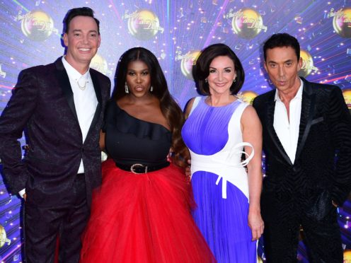 Craig Revel Horwood (left), Motsi Mabuse, Shirley Ballas and Bruno Tonioli (right) are the judges for this year's series (Ian West/Pa)