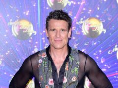 James Cracknell arriving at the red carpet launch of Strictly Come Dancing 2019, held at BBC TV Centre in London, UK. (Ian West/PA)