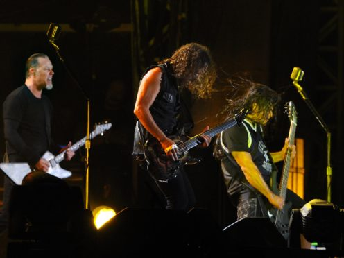 Metallica made the donation ahead of their sould out show at Romania's National Arena (PA)