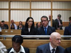 Matthew Macfadyen and Sian Clifford in the drama (ITV/PA)