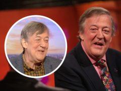 Stephen Fry (BBC/PA)