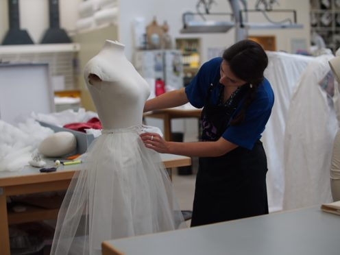 A BBC documentary series will give viewers a look behind the scenes at the V&A (Joanna Hawkins/BBC/PA)