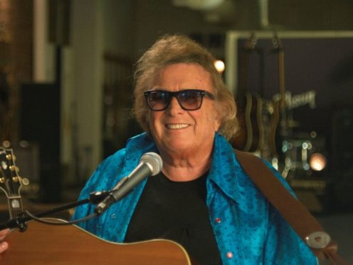 Don McLean has hit out at critics of his partner (AXS TV/Joy Factory/PA)