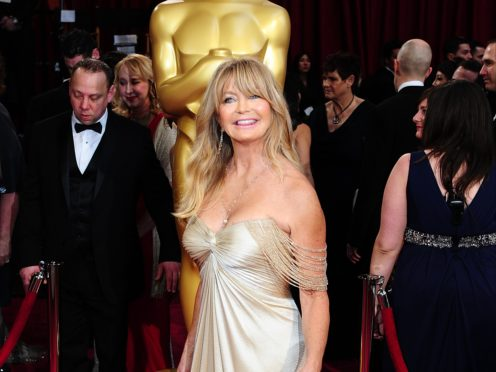 Goldie Hawn has signed up to a mindfulness and relaxation audio app for children (Ian West/PA)