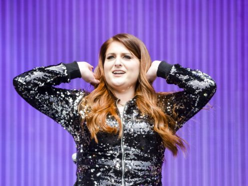 Meghan Trainor performs on stage during BBC Radio 1's Big Weekend at Powderham Castle in Exeter (PA)