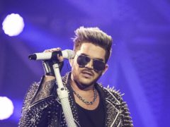 Adam Lambert performs live on stage with Queen (David Jensen/PA)