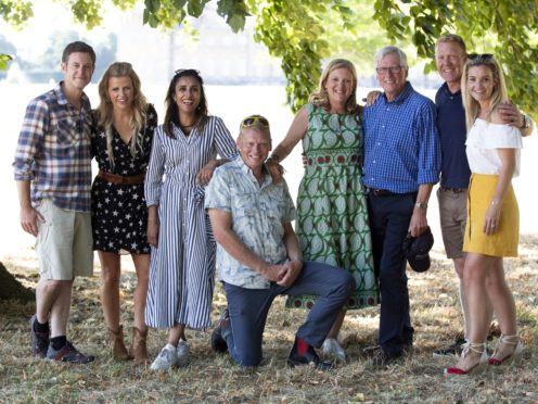 The Countryfile team will return to rambling (Steve Parsons/PA)