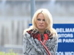 Pamela Anderson defended Wikileaks founder and alleged sexual offender Julian Assange during a heated debate on US TV (Gareth Fuller/PA)