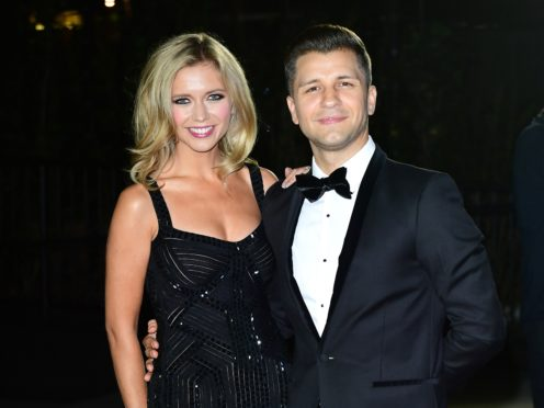 Rachel Riley and Pasha Kovalev are expecting their first child together (Ian West/PA)