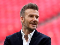 David Beckham is being honoured by GQ (Bradley Collyer/PA)