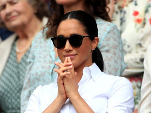 The Duchess of Sussex tops Tatler magazine's list of social risers (Mike Egerton/PA)
