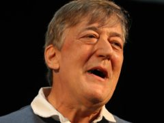 Stephen Fry announced his diagnosis in 2018. (Andrew Milligan/PA)