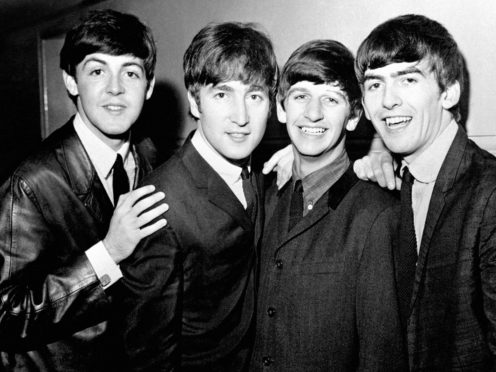 Paul McCartney, John Lennon, Ringo Starr and George Harrison (PA)