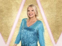 Strictly Come Dancing contestant Anneka Rice (Ray Burmiston/BBC/PA)