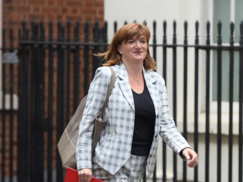 Cabinet minister Nicky Morgan (Kirsty O'Connor/PA)