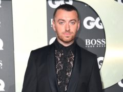 Sam Smith arriving at the GQ Men of the Year Awards 2019 (Matt Crossick/PA)